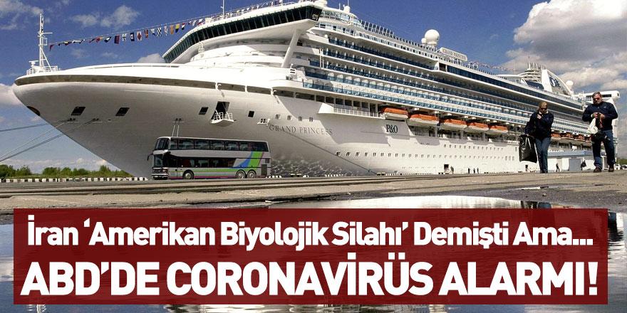 ABD'de Coronavirüs Alarmı! Dev Gemi Karantina Altına Alındı