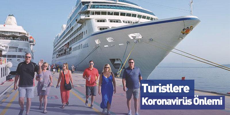Turistlere Termal Kamera Önlemi