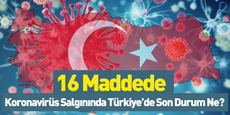 Koronavirüsü Türkiye Son Durum