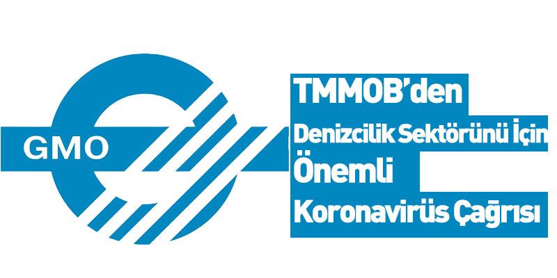 TMMOB Gemi Mühendisleri Odası Koronavirüs Açıklaması Yaptı