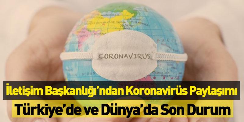Dünya Genelinde Koronavirüs Son Durumu