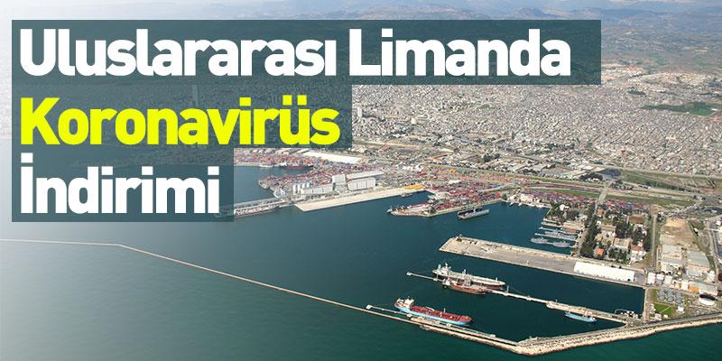 Uluslararası Limanda Koronavirüs İndirimi