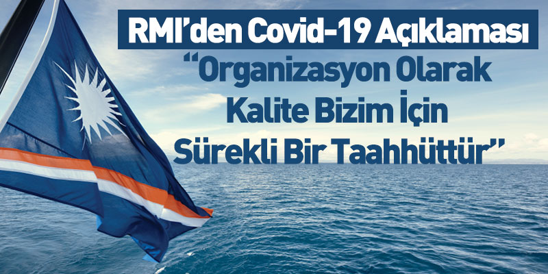 RMI'den Covid-19 Açıklaması