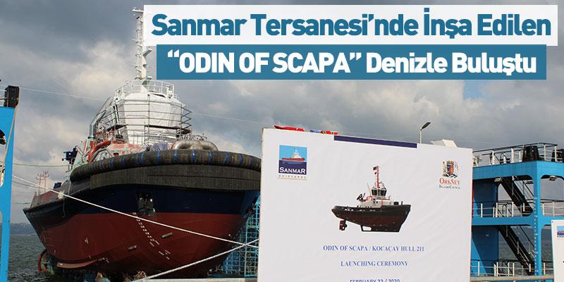 """ODIN OF SCAPA"" Denizle Buluştu"