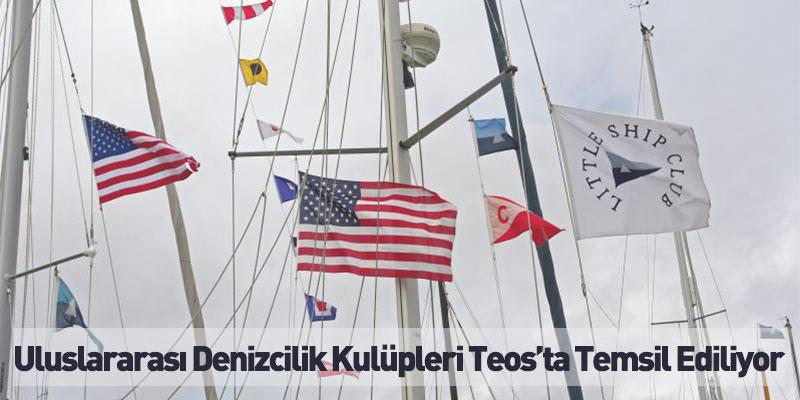 Uluslararası Denizcilik Kulüpleri Teos'ta Temsil Ediliyor