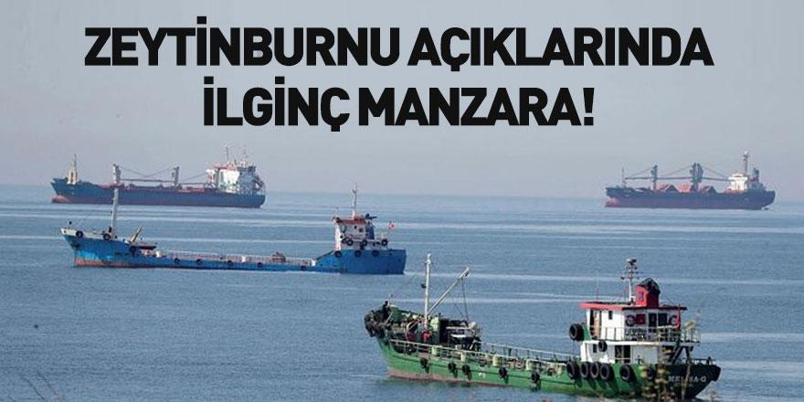 Koronavirüs Nedeniyle Yük Bulamayan Gemiler Zeytinburnu'nda Demirledi