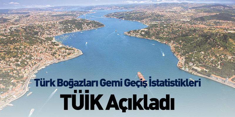 Türk Boğazları Gemi Geçiş İstatistikleri TÜİK Açıkladı