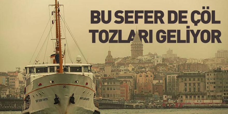 Çöl Tozu Hafta Sonu Türkiye'yi Etkisi Altına Alacak