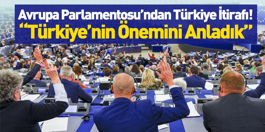 Avrupa Parlamentosu Eski Başkan Yardımcısından Türkiye İtirafı