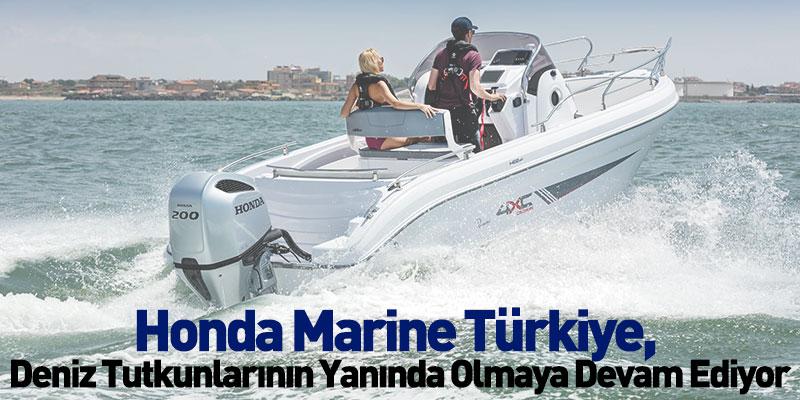 Honda Marine Türkiye, Yeni Sezonda Deniz Tutkunlarının Yanında Olmaya Devam Ediyor