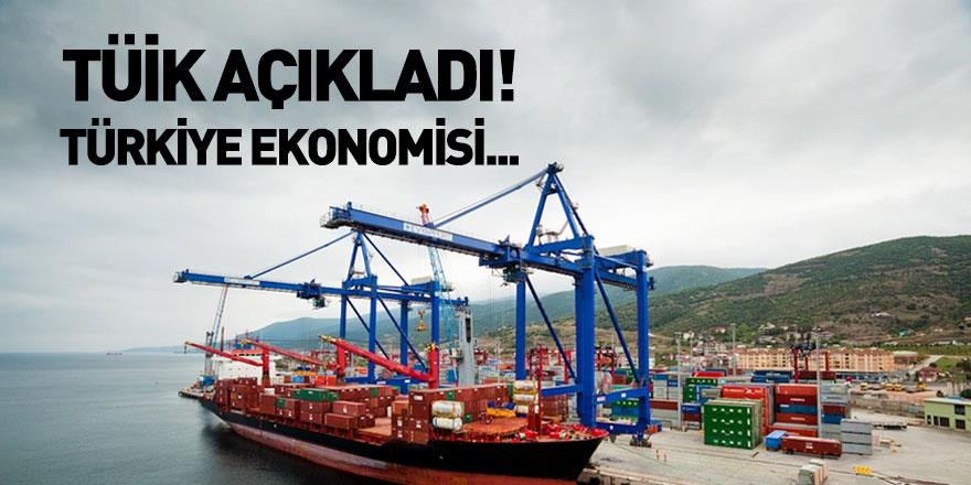 TÜİK Türkiye Ekonomisinin Büyüme Verilerini Açıkladı