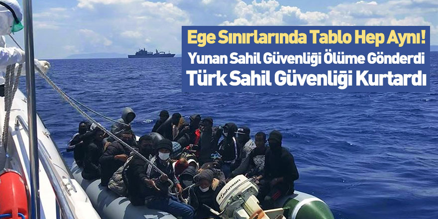 Türk Sahil Güvenliği 85 Mülteciyi Kurtardı