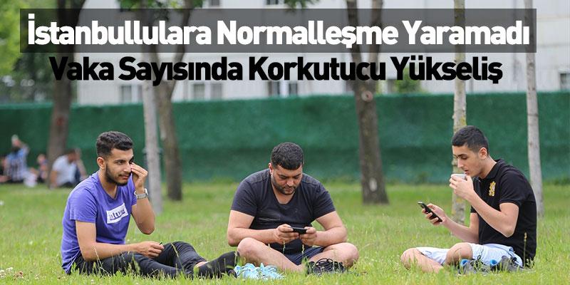 İstanbullulara Normalleşme Yaramadı
