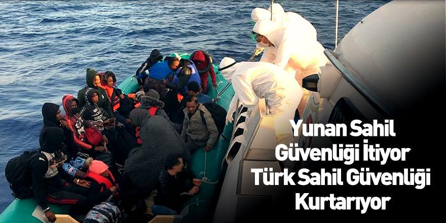 Yunan Sahil Güvenlik Güçleri Mülteci Geri İtmeye Devam Ediyor