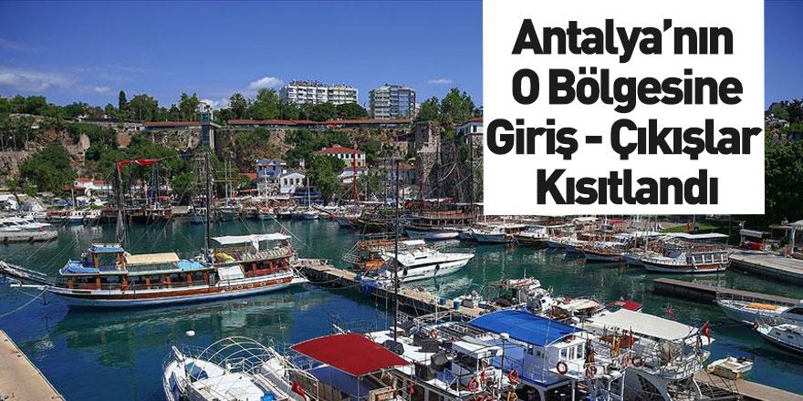Antalya Kaleiçi'nde Maskesiz Girişler Yasaklandı