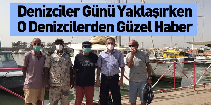 Eritre'de Alıkonulan Türk Denizciler Serbest Bırakıldı