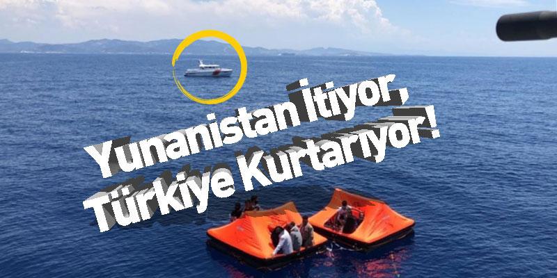 Yunanistan İtiyor, Türkiye Kurtarıyor!