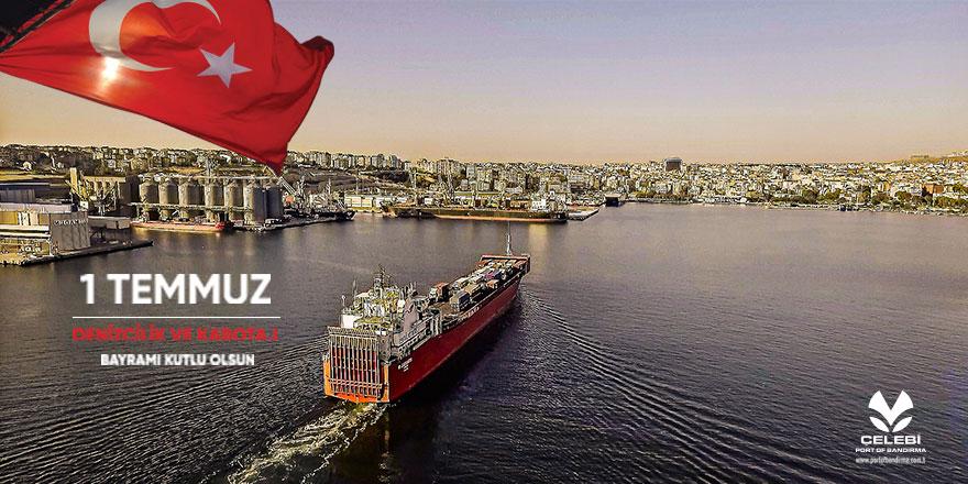 Port Of Bandırma'dan Kabotaj ve Denizcilik Bayramı Mesajı