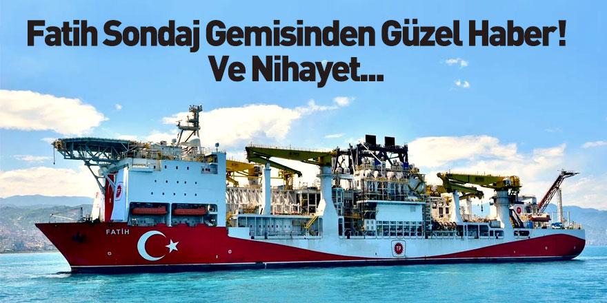 Fatih Sondaj Gemisi Zonguldak'a Ulaştı