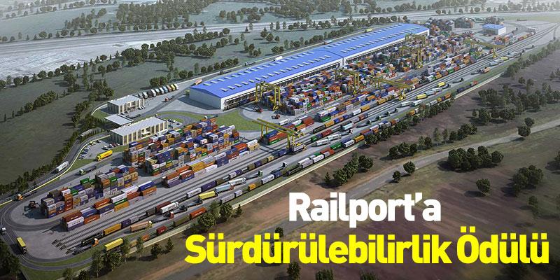 Railport'a Sürdürülebilirlik Ödülü