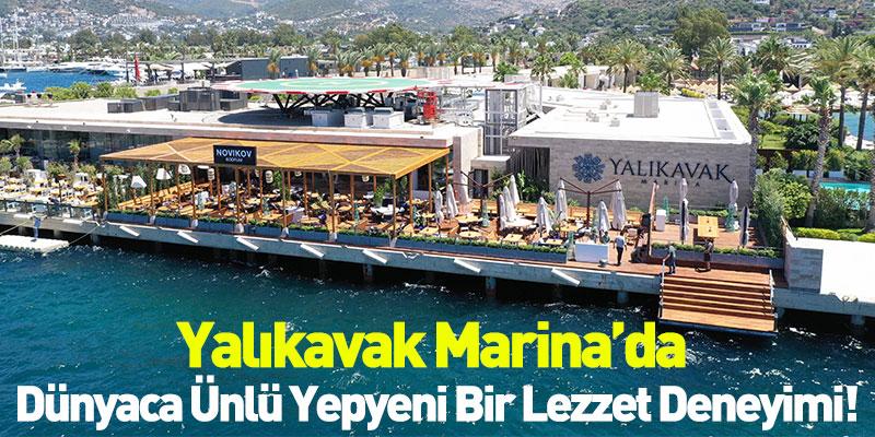 Türkiye'de Bir İlk Yalıkavak Marina'da