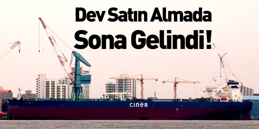 Ciner Denizcilik Petrol Tankerlerini Teslim Almaya Hazırlanıyor