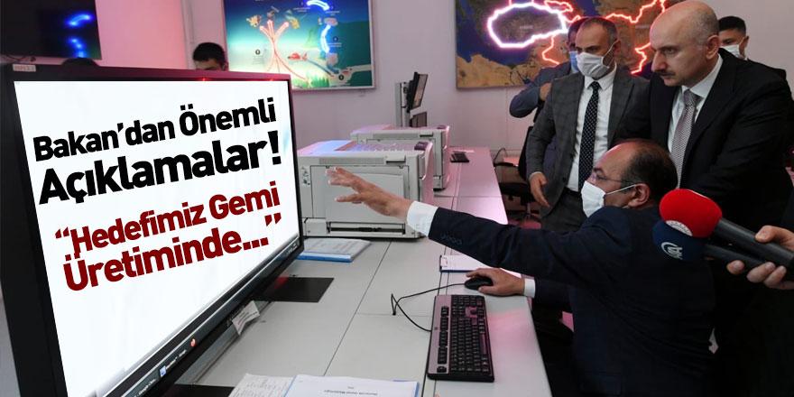 Ulaştırma ve Altyapı Bakanı Adil Karaismailoğlu'ndan Önemli Ziyaret
