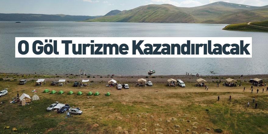 Balık Gölü'nün Turizme Kazandırılması İçin Start Verildi