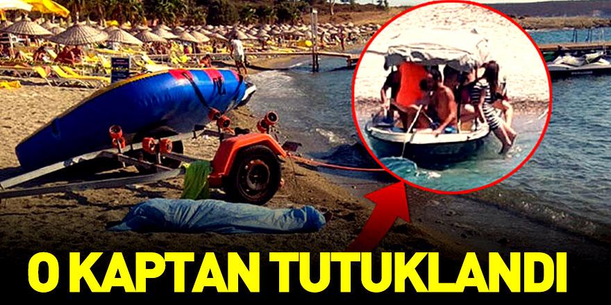 İzmir Foça'da Batan Geminin Kaptanı Tutuklandı