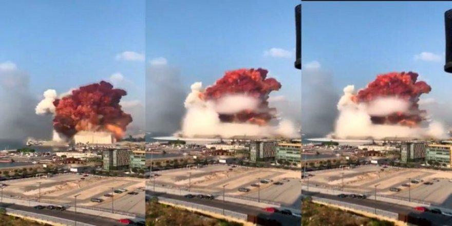 Beyrut Limanı'nda Büyük Patlama