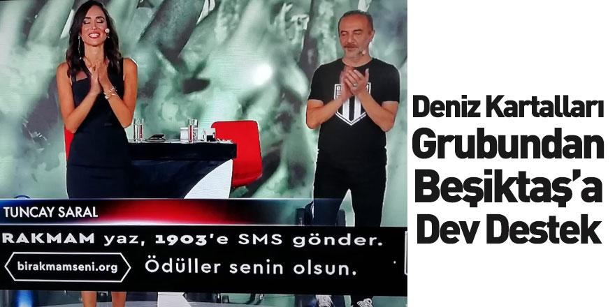 Deniz Kartalları Grubu'ndan Beşiktaş'a 260 Bin TL'lik Katkı