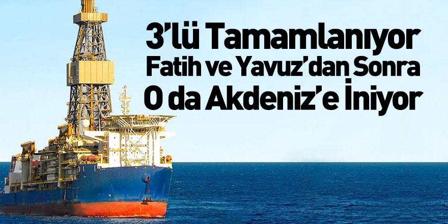 Kanuni Sondaj Gemisi Akdeniz'e İnecek