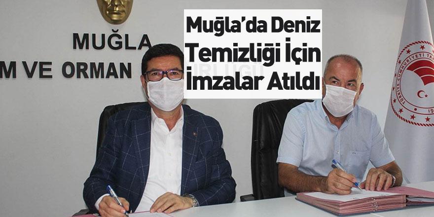 Muğla'da Kıyı Temizliği Protokolü İçin İmzalar Atıldı