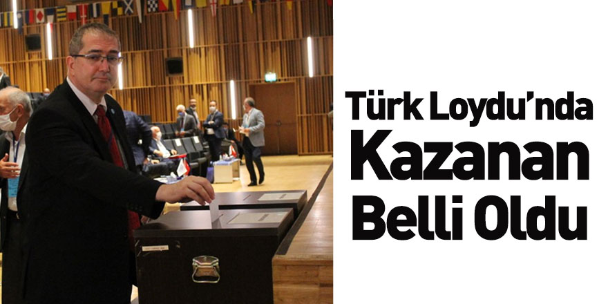 Türk Loydu Vakfı'nda Kazanan Belli Oldu