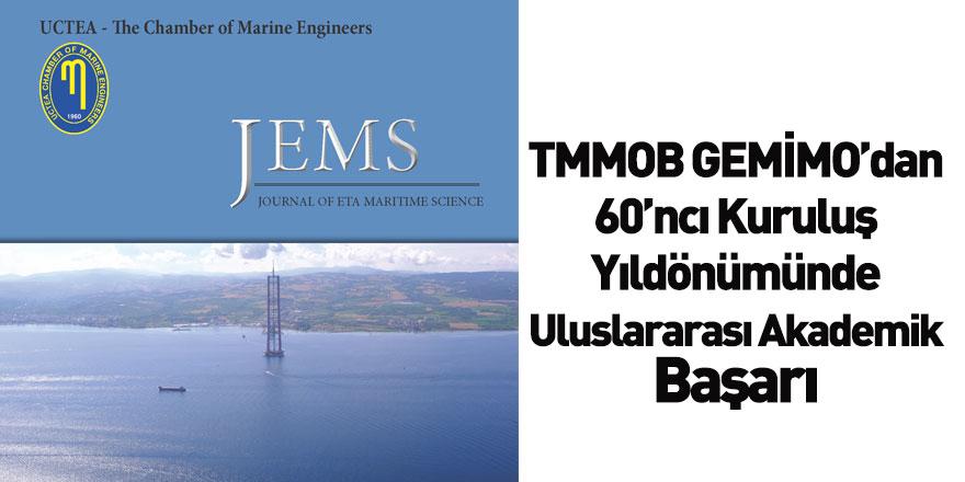 TMMOB GEMİMO'dan 60. Kuruluş Yılında Uluslararası Akademik Başarısı
