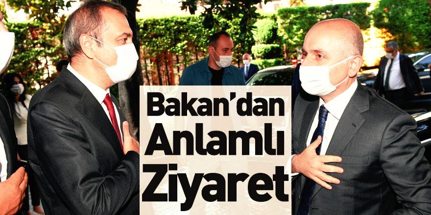 Ulaştırma ve Altyapı Bakanı Adil Karaismailoğlu'ndan İMEAK DTO'ya Anlamlı Ziyaret