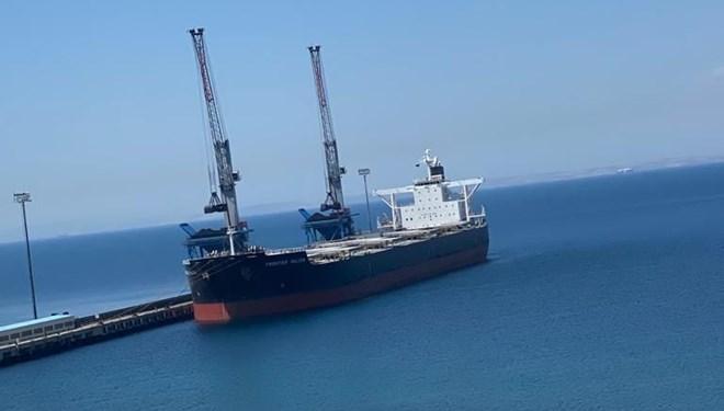 Çanakkale Boğazı'nda Panama Bandıralı Gemiye Dev Operasyon