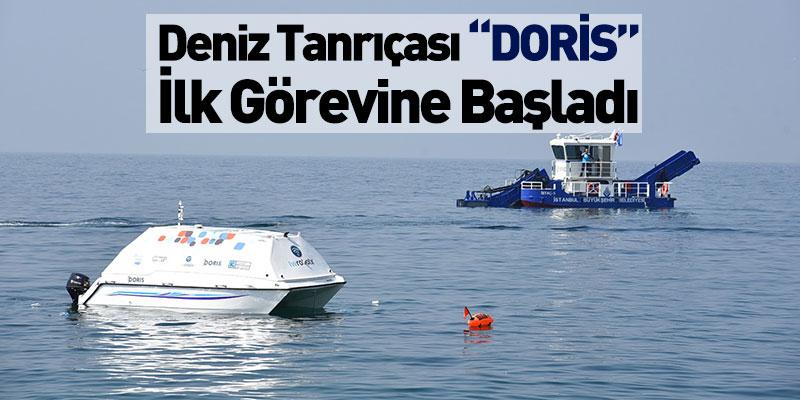 """Deniz Tanrıçası """"DORİS"""" İlk Görevine Başladı"""