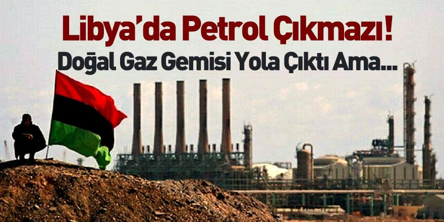 Hafter'in Blokajı Kalkınca Libya Hükümeti Doğal Gaz İçin Harekete Geçti