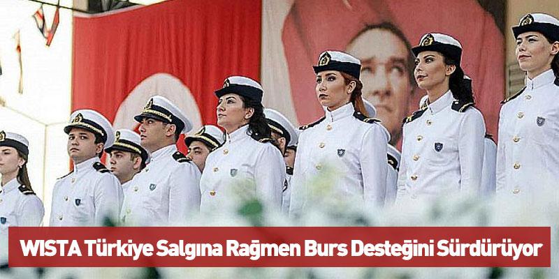 WISTA Türkiye Salgına Rağmen Burs Desteğini Sürdürüyor