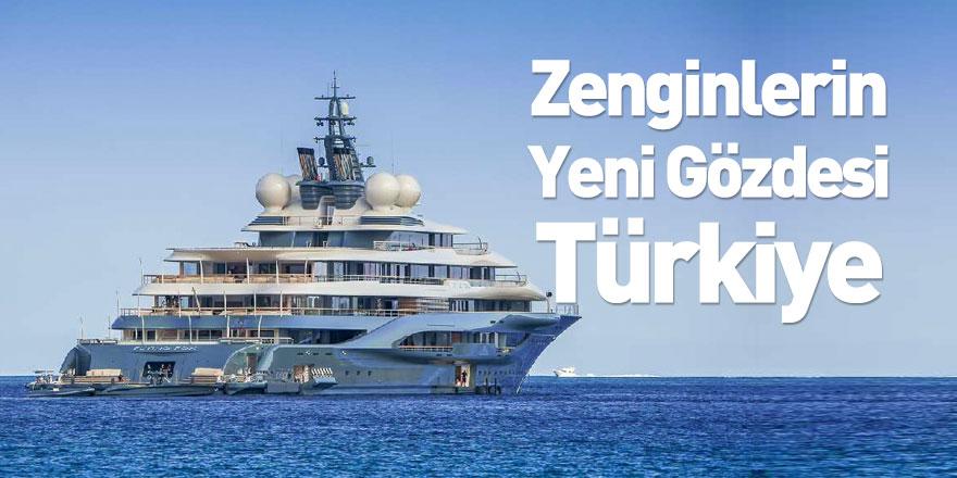 Yat Sahibi Zenginlerin Yeni Tercihi Türkiye