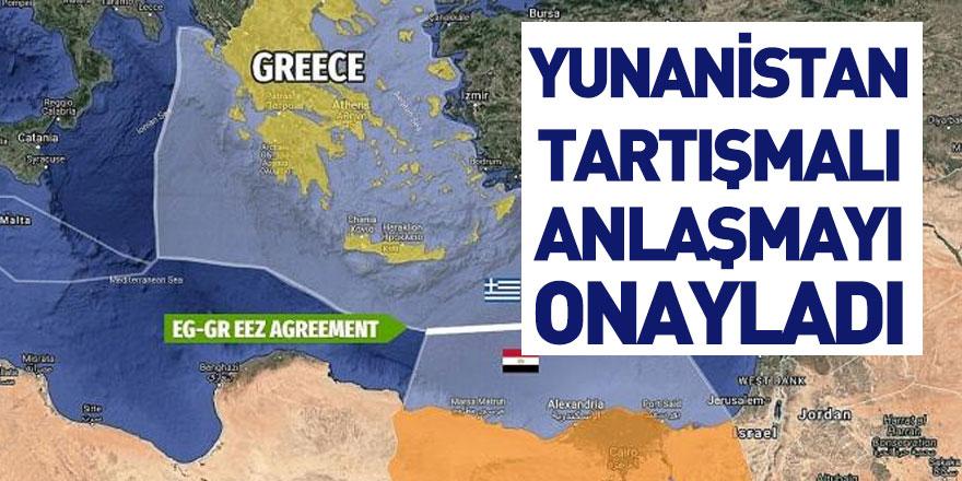 Yunanistan Parlamentosu Mısır ile Yapılan MEB Anlaşmasını Onayladı