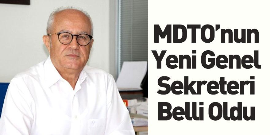 MDTO'nun Yeni Genel Sekreteri Mesut Öztürk Oldu