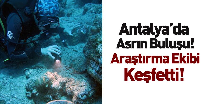 Antalya'da Deniz Dibinde Osmanlı Savaş Gemisi Bulundu