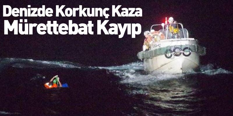 Denizde Korkunç Kaza