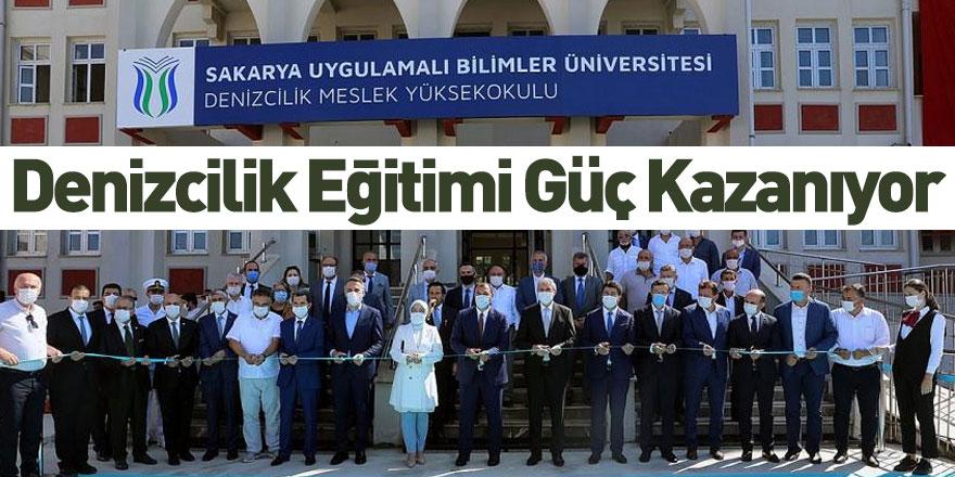 Sakarya Uygulamalı Bilimler Üniversitesi Denizcilik Meslek Yüksekokulu Açıldı