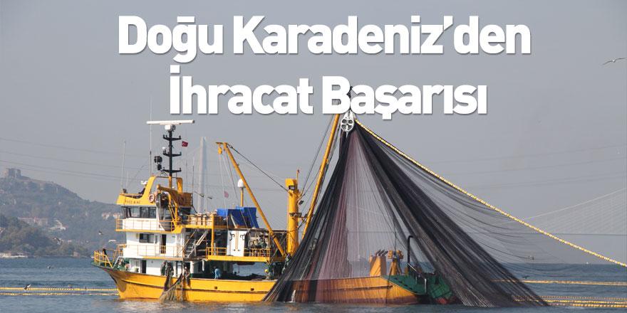 Doğu Karadeniz'den 33 bin 55 Tonluk Su Ürünleri İhracatı