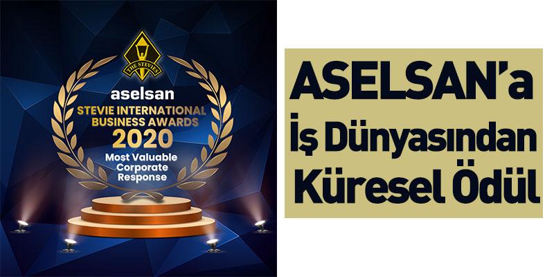 ASELSAN'a İş Dünyasından Küresel Ödül