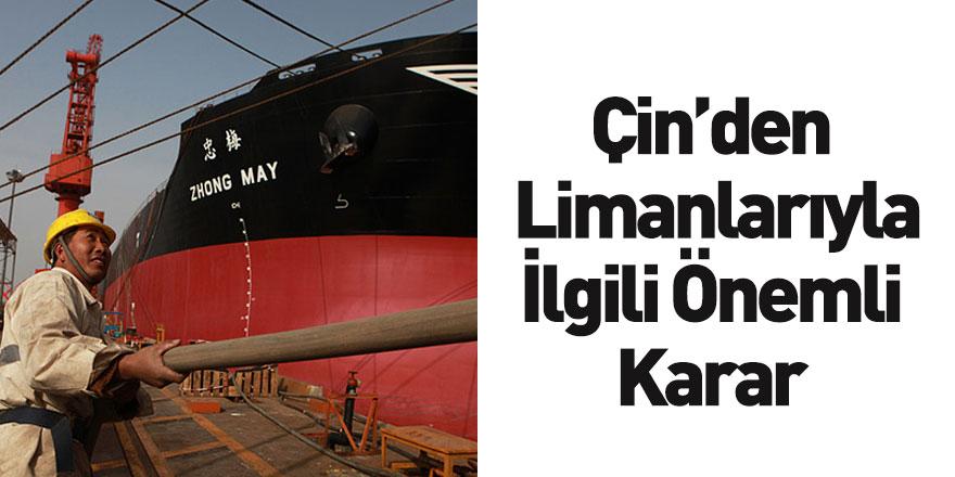 Çin, Limanlarını Mürettebat Değişimini İçin Açıyor