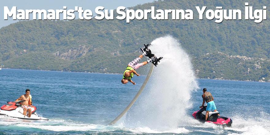 Marmaris'te Su Sporlarına Yoğun İlgi